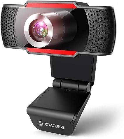 Webcam pc con micrófono, Web cámara 1080p con micrófono reducción de Ruido, Vista Gran Angular de 105º para transmisión en Streaming, conferencias en Zoom, Youtube, Skype, Compatible con Windows, Mac: Amazon.es: Electrónica