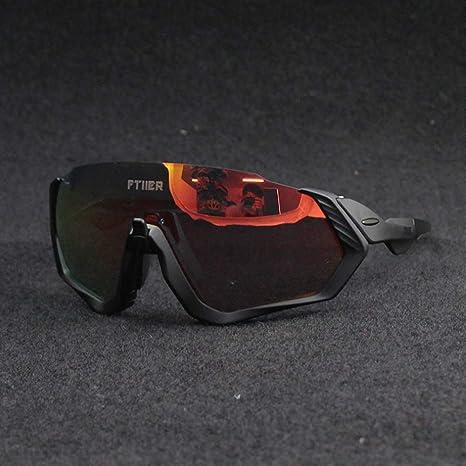 HKYMBM Gafas de Sol de Ciclismo, Gafas fotocromáticas para ...