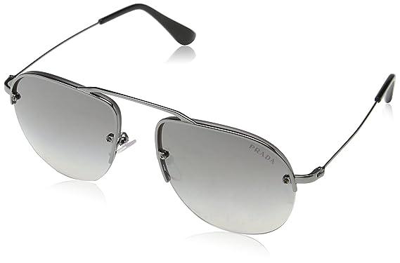 5f3bd159de Amazon.com  Prada Women s Brow Bar Sunglasses