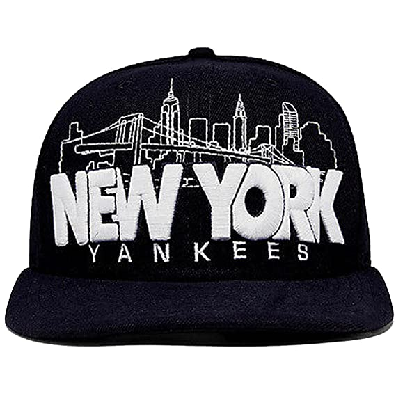 New Era 59fifty New York Yankees City Serie Azul Marino Gorra Ajustada: Amazon.es: Ropa y accesorios