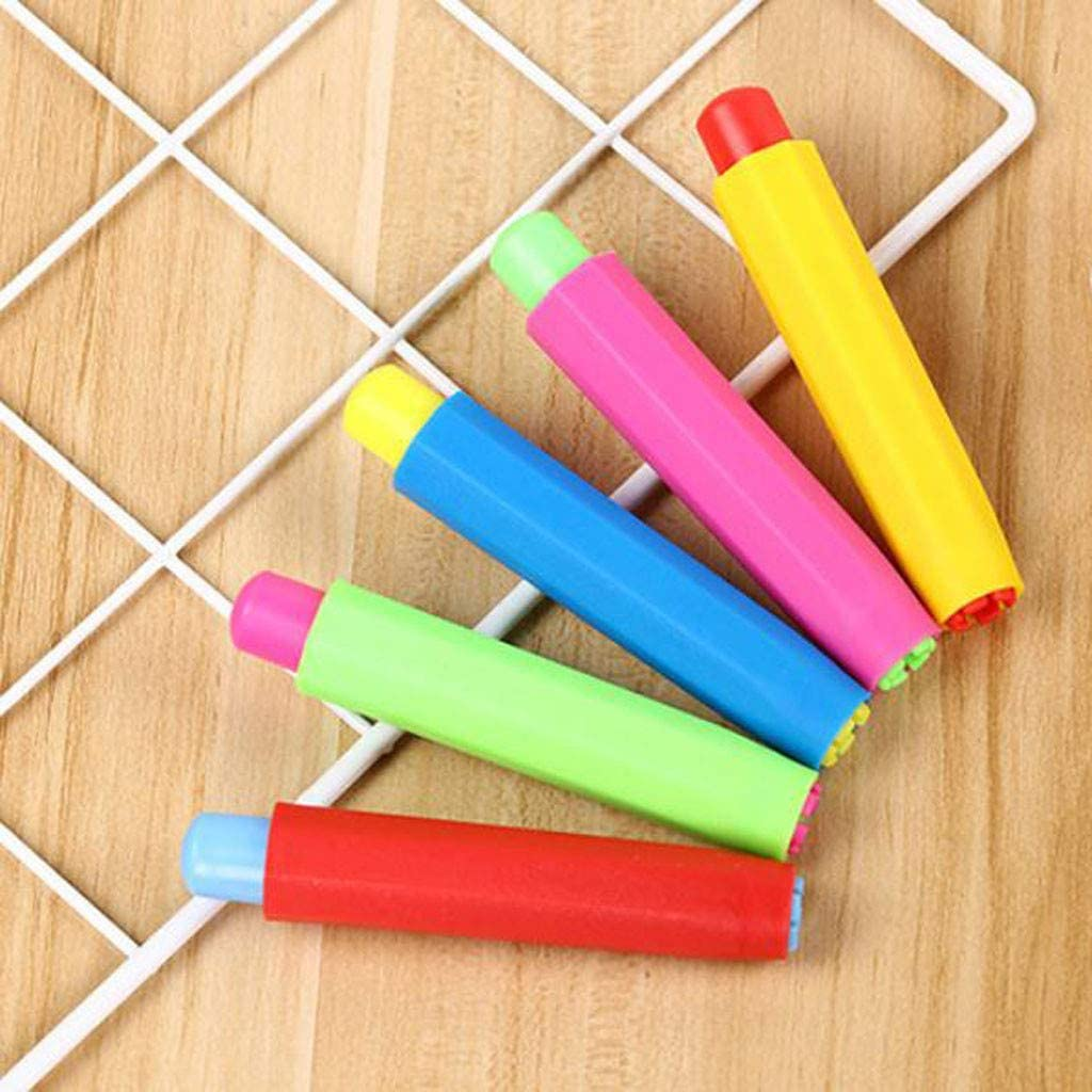 Chalk For Kids Toddlers Outdoor Side Walk Outside Drive Bright Colors Plaster Office Stationery Arts Crafts Toy