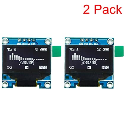 HiLetgo 0 96 SPI Serial 128X64 OLED LCD Display SSD1306 for 51 STM32
