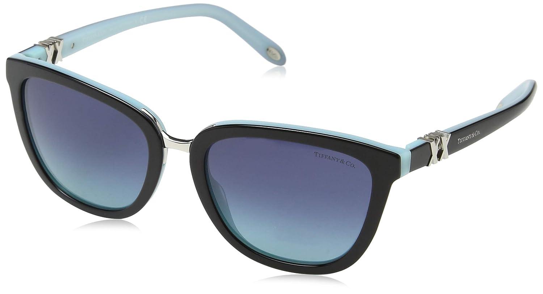 f2b4f696858 Amazon.com  Tiffany Womens   Co. Women s Tf4123 55Mm Sunglasses  Clothing