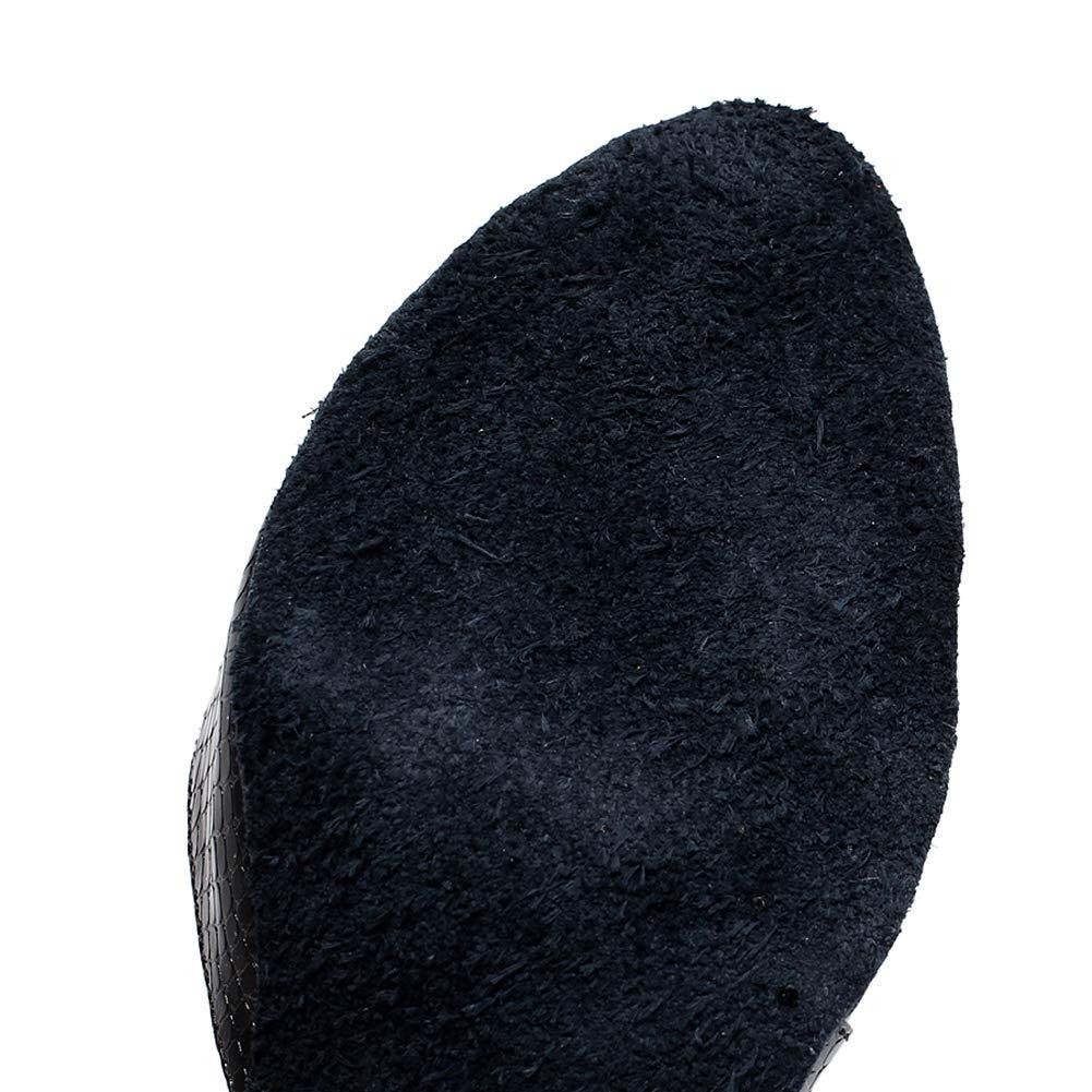 XIAOY Latein Tanzschuhe für Toe Damen Pointed Toe für Leder PU Kreuz Gurt High Heel 6CM feb59a