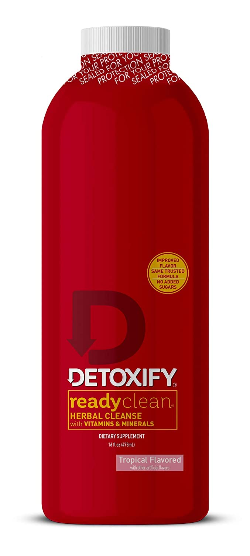 Detoxify Ready Clean Tropical Fruit