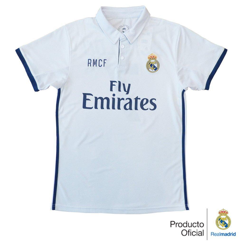 REAL MADRID- Camiseta 1ª Equipación Adulto 2016-2017, Réplica ...