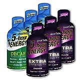 5 Hour Energy, 6 Decaf Citrus + 6 Extra Strength Grape 12 Count