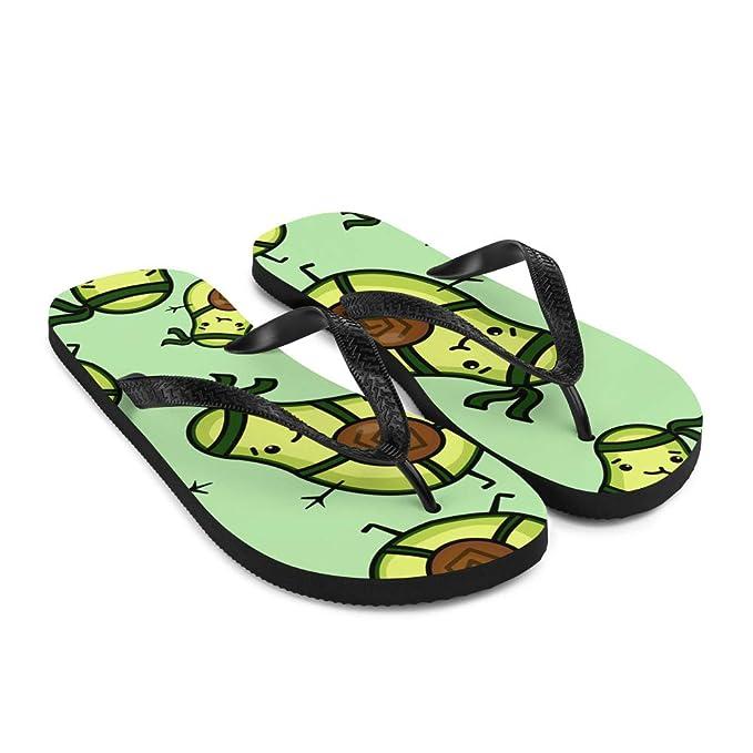 Amazon.com: Avocado Ninja Flip Flops – Pestañas de viento ...