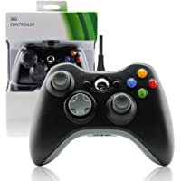 Wired PC USB Joypad Game Controller for Microsoft Xbox 360(Non Official) Windows-Black by Mario Retro