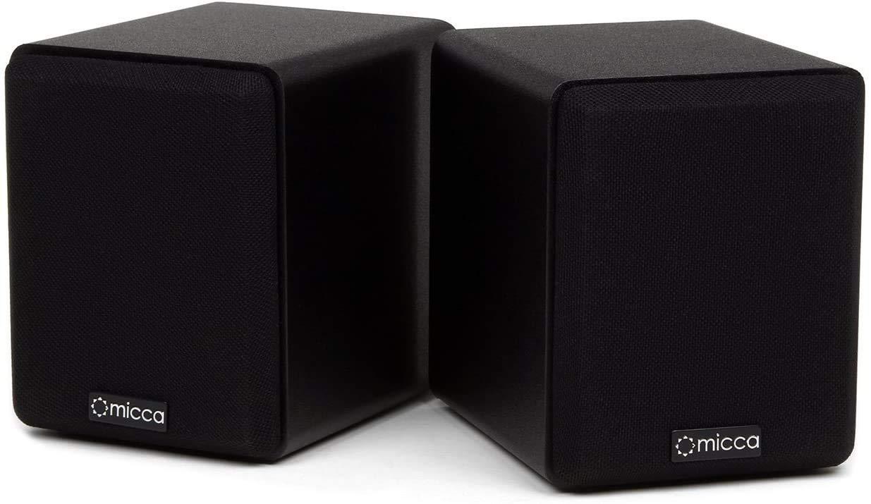 Micca COVO-S Compact 2-Way Bookshelf Speakers