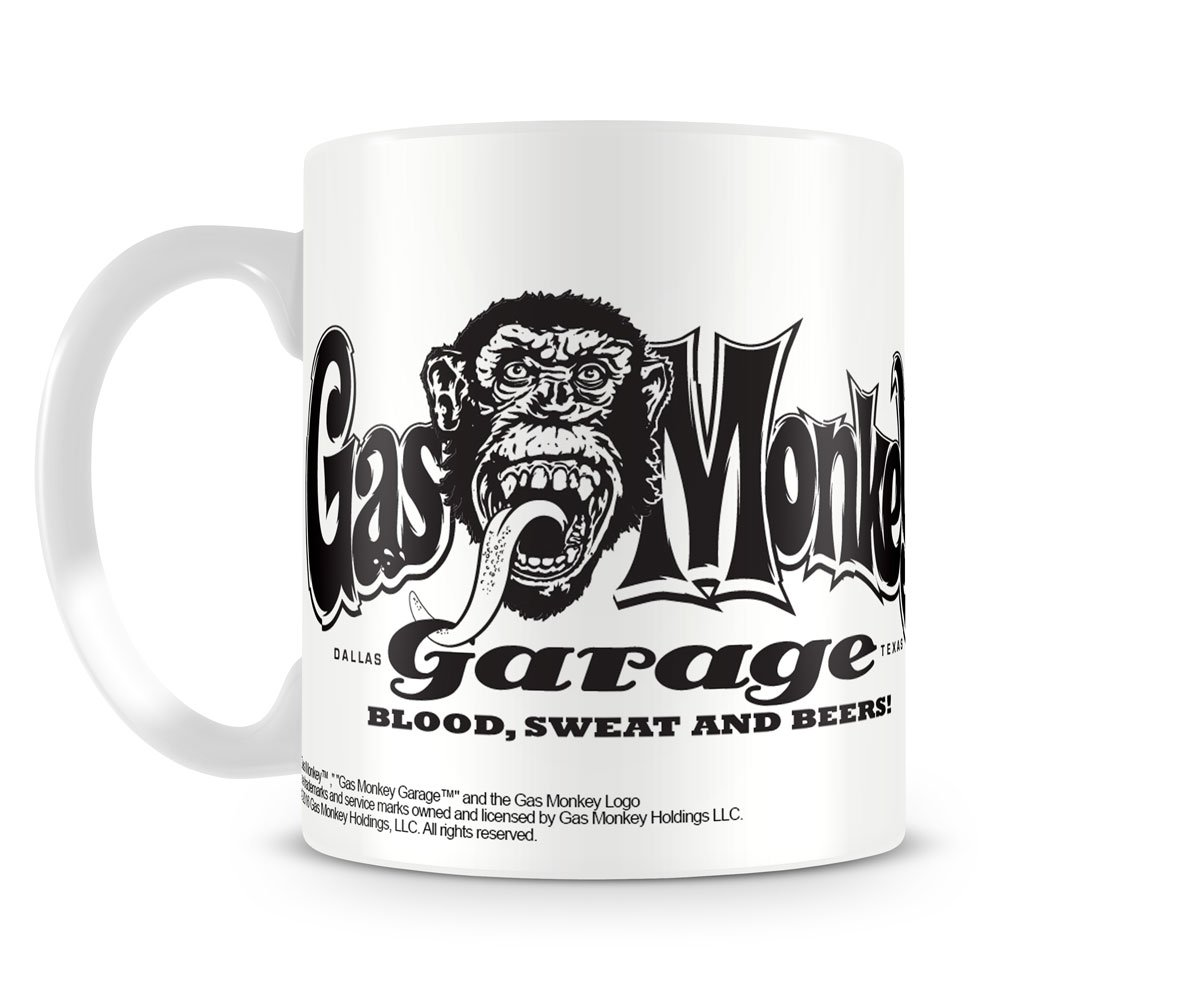 Gas Monkey Garage Kaffeebecher White