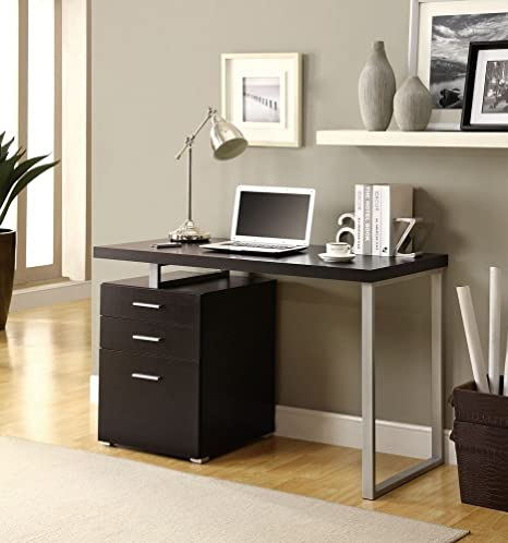 Prime Berger Contemporary Lines 48 Inch Hollow Core Desk Home Interior And Landscaping Synyenasavecom