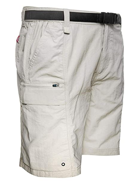 456411f2a Coleman Men's Hiking Cargo Shorts with Belt Ideal for Inclement Weather