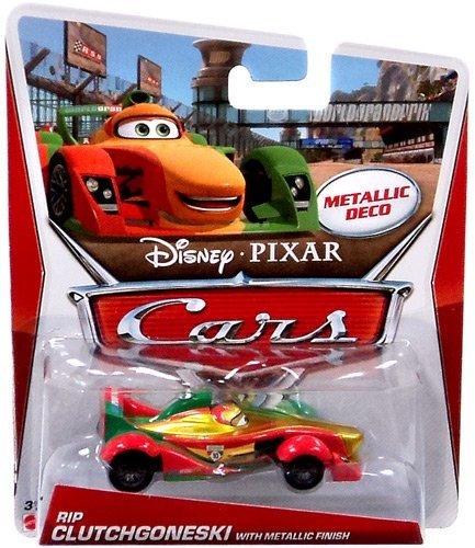 Exclusive Disney Pixar Cars - Disney/Pixar Cars Exclusive Rip Clutchgoneski Metallic Finish 1:55 Scale