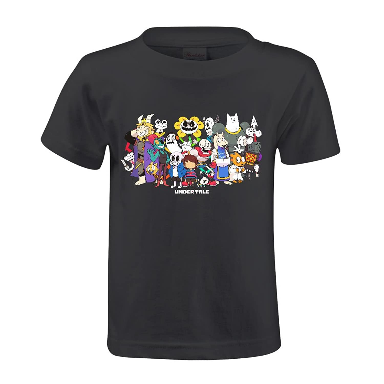Toypop Gorgeous Undertale Kids Cotton Round Collar T-shirt Customized