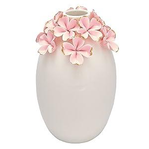 Greengate CERVASLFLW1904 Flower Pale Vase Rose 15 cm