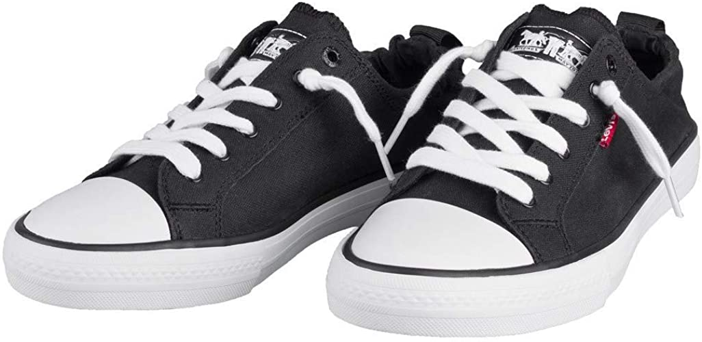 Levi's Kids Girls Stan G Black Sneakers