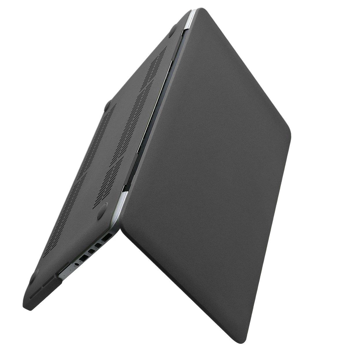 Macbook Pro 15インチRetinaケース( CD - ROMドライブなし) – Ximeng滑らかなソフトPUレザーコーティングハードシェル保護ケースカバーfor MacBook Pro 15インチwith Retina Display ( A1398 ) (Macbook Retina 15 inch, Black) B072TZ2GQY Macbook Retina 15 inch|Black Black Macbook Retina 15 inch