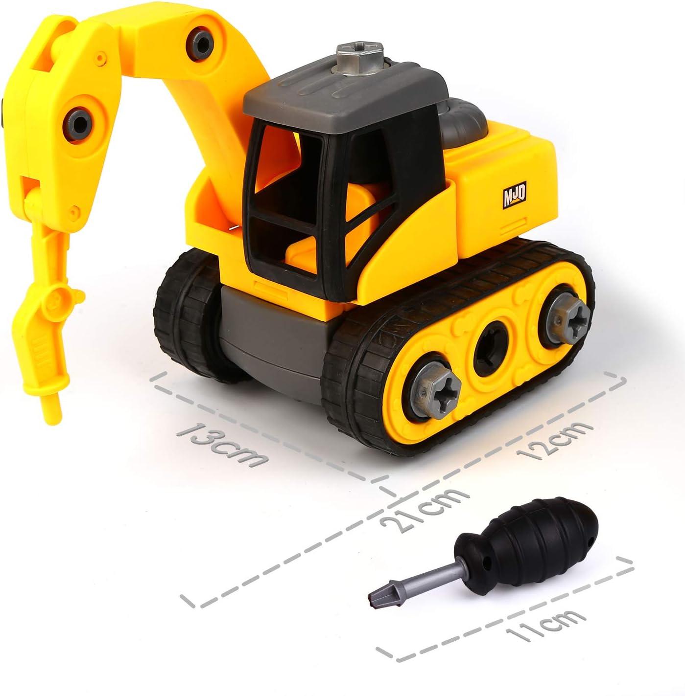 Vegena Montage Spielzeug Auto Kleinkind Bagger Lastwagen ...