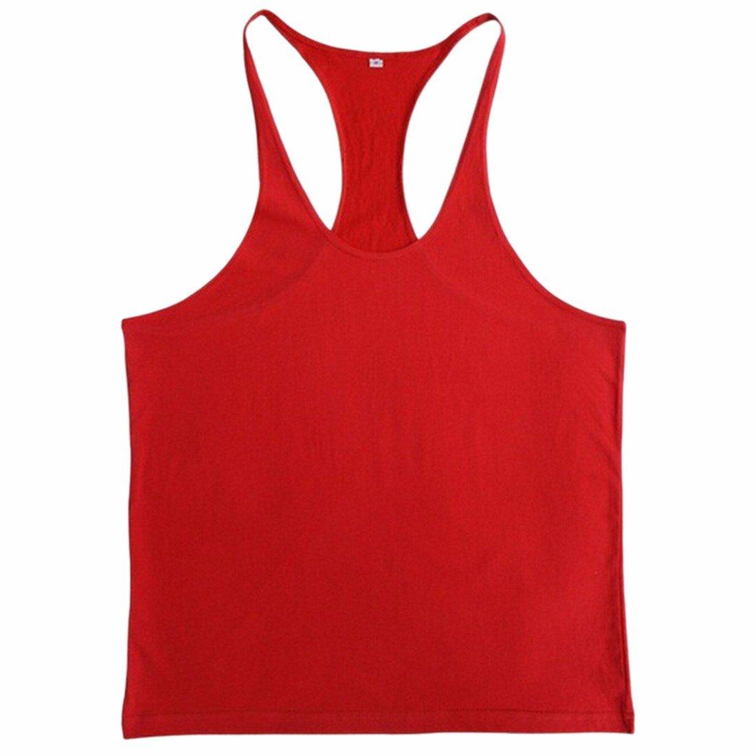 Men Fitness Gym Muscle Vest Tank Tops Undershirt Sleeveless 2011S0022