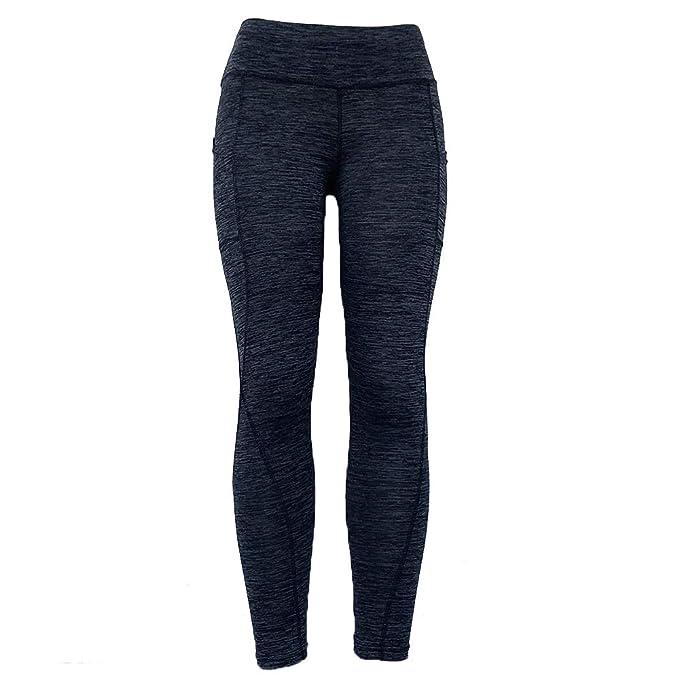 Amazon.com: JCMD - Leggings para mujer con patchwork ...