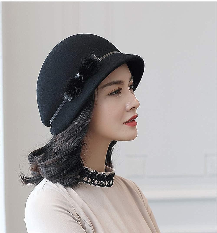 Vintage top hat womens visor casual hat basin cap beret