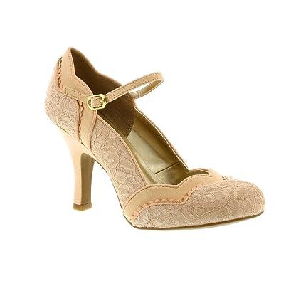 Chaussures Ruby Shoo roses femme Q7rjTvDn