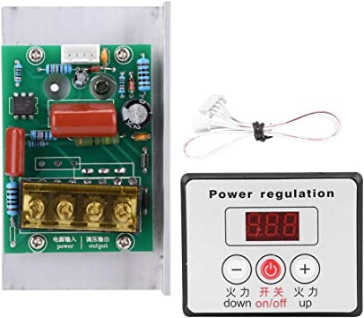 AC Voltage Regulator Adjust Motor Speed Light Temp Control Dimmer Thermostat