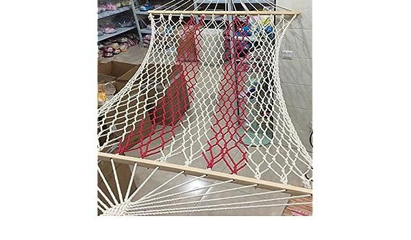 WXDC Hammock Hamaca con Red al Aire Libre, cordón de Nylon ...