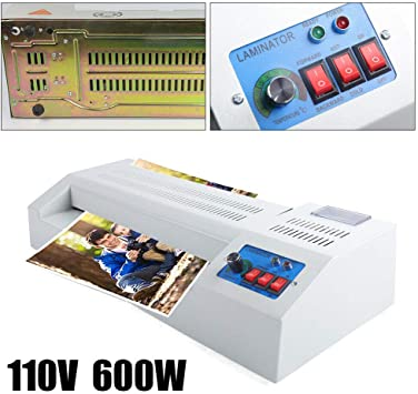 """13/"""" Hot Cold Thermal Laminator Machine A3 Document Speed Adjust 40-180℃ PRO"""