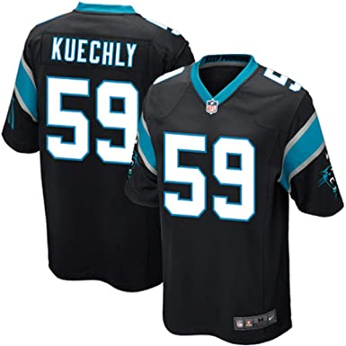 6fc676a76c1 Outerstuff Youth #59 NFL Carolina Panthers Luke Kuechly Jersey Black Home ( Youth Small 8