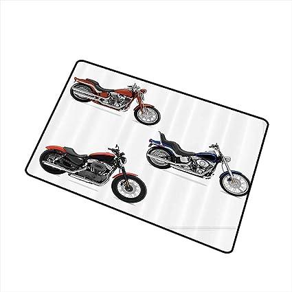 Amazon.com: Axbkl - Felpudo para motocicleta, diseño de ...