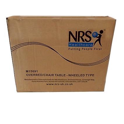 Amazon.com: NRS Healthcare – m15691 Portable Overbed/silla ...