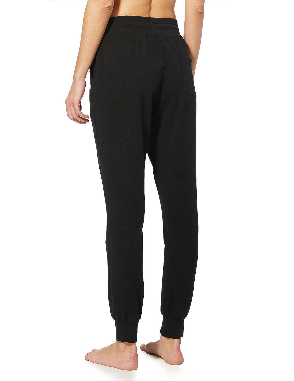 3b88fcb8566a9 Amazon.com  Baleaf Women s Active Yoga Lounge Sweat Pants with Pockets   Clothing