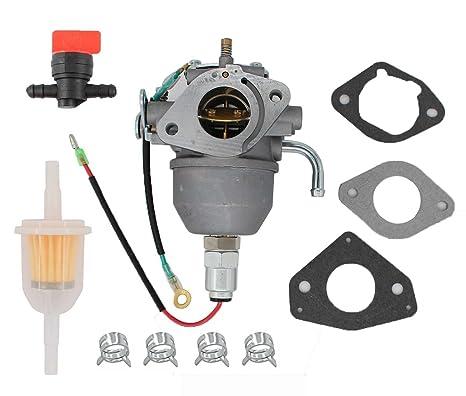 Carburetor Fuel Filter Shut off valve Clamp For Kohler CV18S CV20S CV22S  CV725 Command Engine Carb 24 853 25-S 24 853 19-S 24 053 08-S 24 053 50-S  ,24
