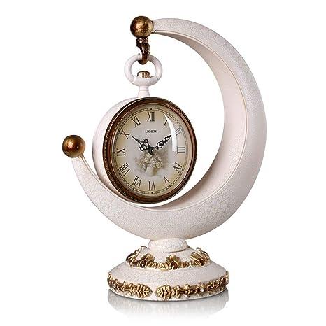 Yuany Reloj de Escritorio Relojes Familiares Reloj de Mesa ...