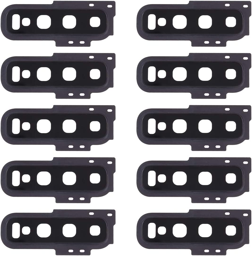 Color : Black Black MOBILEACCESSORIES for Tang YI MING TENGLIN 10 PCS Camera Lens Cover for Galaxy S10