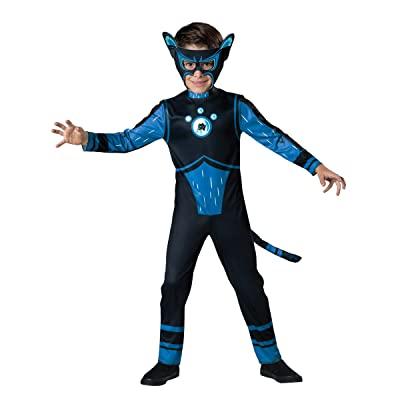 Fun World InCharacter Costumes Panther Value Costume, Blue, Size 4: Toys & Games