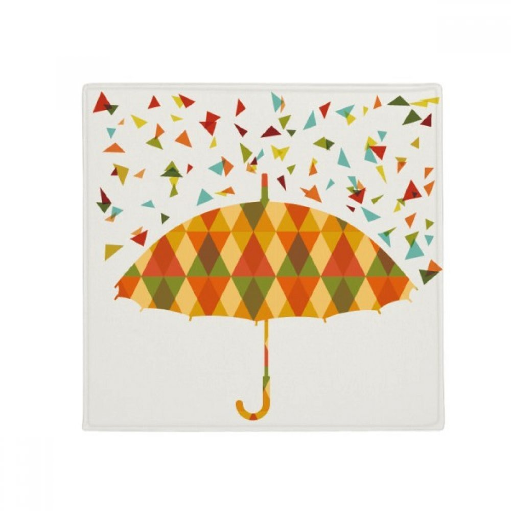 DIYthinker Rain Umbrella Weather Drip Pattern Anti-Slip Floor Pet Mat Square Home Kitchen Door 80Cm Gift
