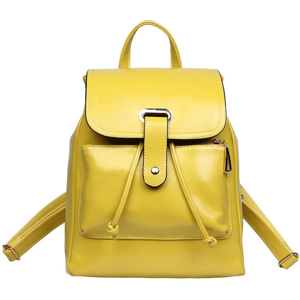 WQT Ms retro summer leisure travel shoulder backpack/Students double shoulder women bag-D