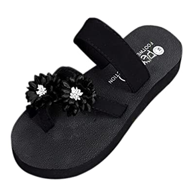 VEMOW 2018 Spring Summer New UK Sandals for Women Ladies Girls Sexy Daily  Bohemia Black Red Blue Gray Purple Beach Shoes Platform Bath Slippers Wedge  Flip ... 7aea9b048d90