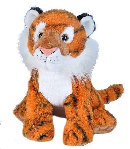 Amazon Com Wild Republic Siberian Tiger Plush Stuffed Animal