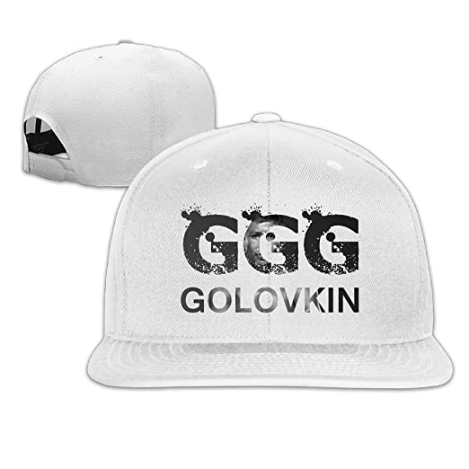 Image Unavailable. Image not available for. Color  Ptloveing Unisex Gennady Golovkin  GGG Boxing Snapback Adjustable Flat Baseball Hat Cap 046768b5e0d7