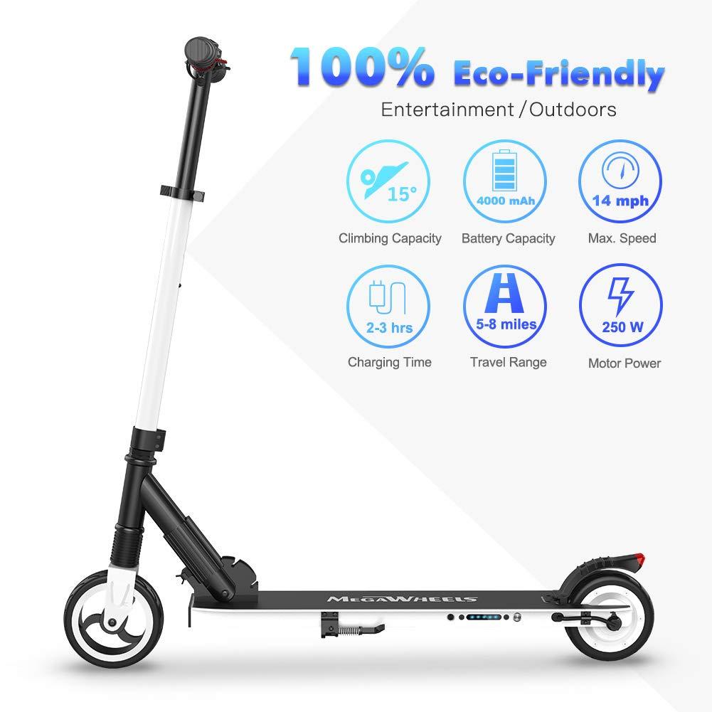 Amazon.com: Megawheels - Patinete eléctrico con instalación ...