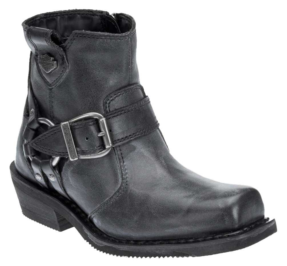 Harley-Davidson Women's Newhall 5.25-Inch Smoke Grey Motorcycle Boots D87139