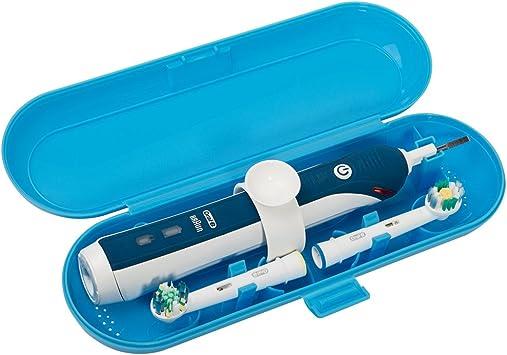 Cepillo de dientes eléctrico de plástico Estuche de viaje compatible con la serie Pro, azul: Amazon.es: Salud y cuidado personal