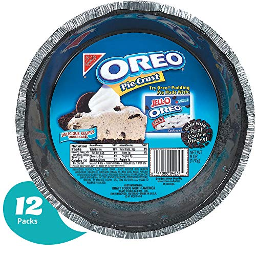 (Oreo Pie Crust - Ready for Baking - Made with Real Cookies - 6 Ounce (Pack of 12))