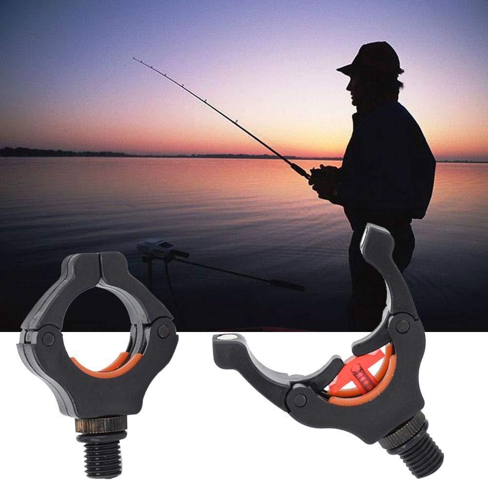 4 Soportes para ca/ñas de Pescar de Carpa con Clips magn/éticos para Mantener la ca/ña de Pescar en Forma de U