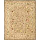 Cheap Safavieh Anatolia Collection AN522B Handmade Traditional Oriental Tan and Ivory Wool Area Rug (12′ x 18′)