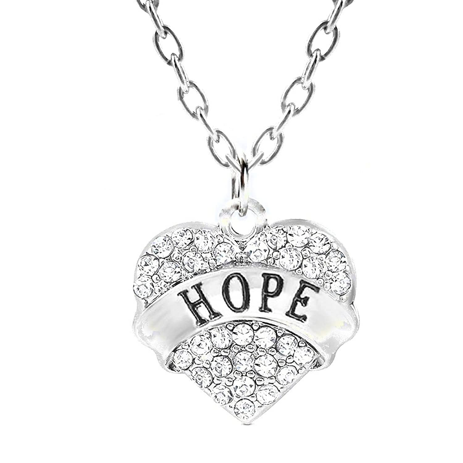 """Hope"" Charm Necklace 